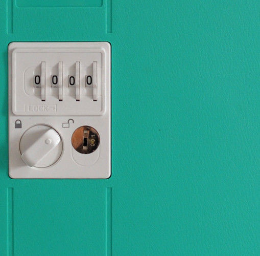 Anti Corrosion ABS Swimming Pool Lockers Green /4 layer /green door