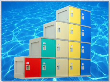 China ABS Plastic Lockers With Padlock , Vandal Resistant Staff Room Lockers supplier