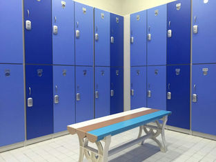 China Durable / Lightweight Blue Office Storage Lockers H2000 × W933 × D450mm supplier