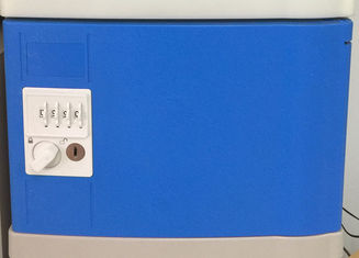 China Blue School Lockers 8 Comparts 1 Column , Clover Keyless ABS Plastic Lockers supplier