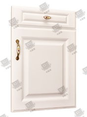 China Environmentally Friendly Wooden Moulded Doors With Medium Density Board supplier