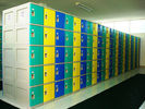 China ABS Plastic Mobile Phone Lockers Smart and Safe With SGS Certified factory