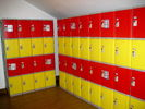 ABS Storage Lockers with keyless lockset