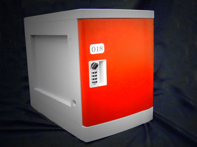 Abs Coin Operated Lockers Four Tier Waterproof Anti Uv