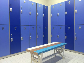 China Durable / Lightweight Blue Office Storage Lockers H2000 × W933 × D450mm factory