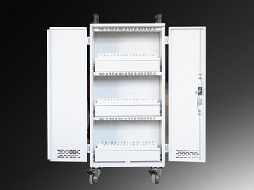 1330 * 746 * 460mm Mobile Charging Cart 54 Units For 60 Tablet Computer
